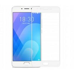 SELTY AL6 Szkło Hartowane PEŁNE Samsung Galaxy S8 EDGE 3D 9H- BIAŁE