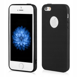 Etui Case Matt SLIM + Szkło 9H do iPhone 5 5s 5se