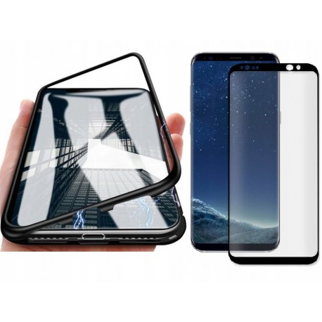 ETUI MAGNETIC SZKŁO 360 DO SAMSUNG GALAXY S9+