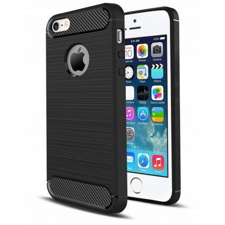 ETUI KARBON CARBON CASE DO IPHONE 5 5S SE + SZKŁO