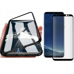 ETUI CASE DO SAMSUNG GALAXY S8 MAGNETIC + SZKŁO 3D